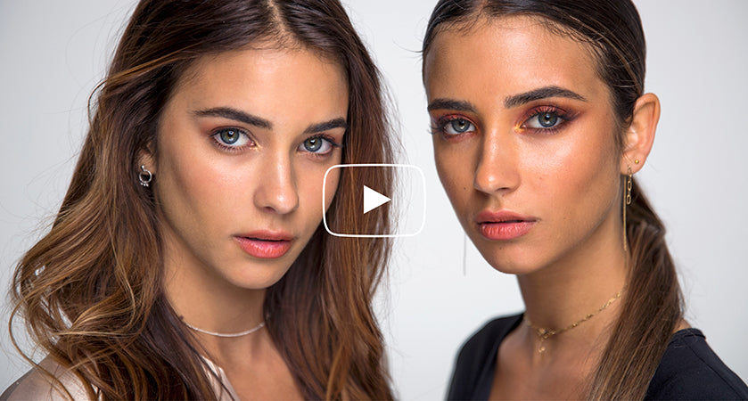 Youtube Learn how to get twins Renee and Elisha's day to night transformation