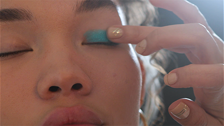 Step 1 How To Nail the Blue Eyeshadow Trend