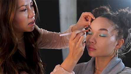 Step 3 How To Nail the Blue Eyeshadow Trend