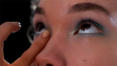 Step 5 How To Nail the Blue Eyeshadow Trend