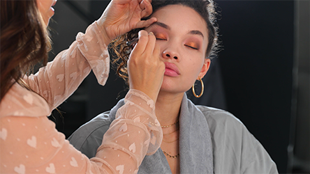Step 5 Summer Bronze with a Coral Lip: How To