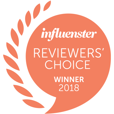 Influenster Reviewer's Choice Winner 2018