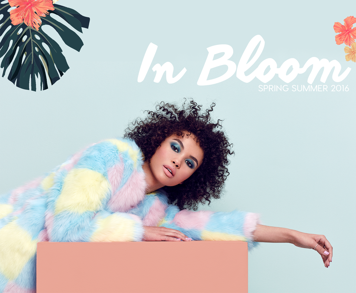 "ColourPop ""In Bloom"" Spring Summer 2016"
