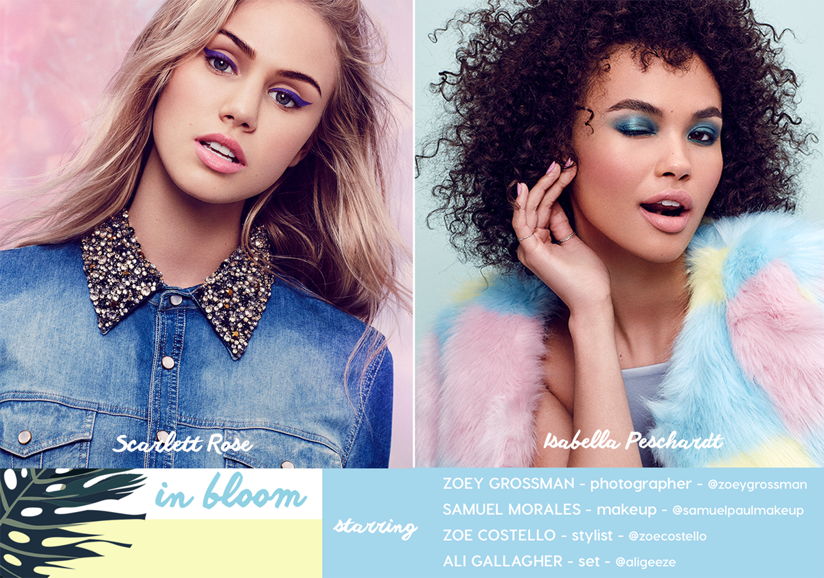 "ColourPop ""In Bloom"" starring Scarlett Rose & Isabella Peschardt"