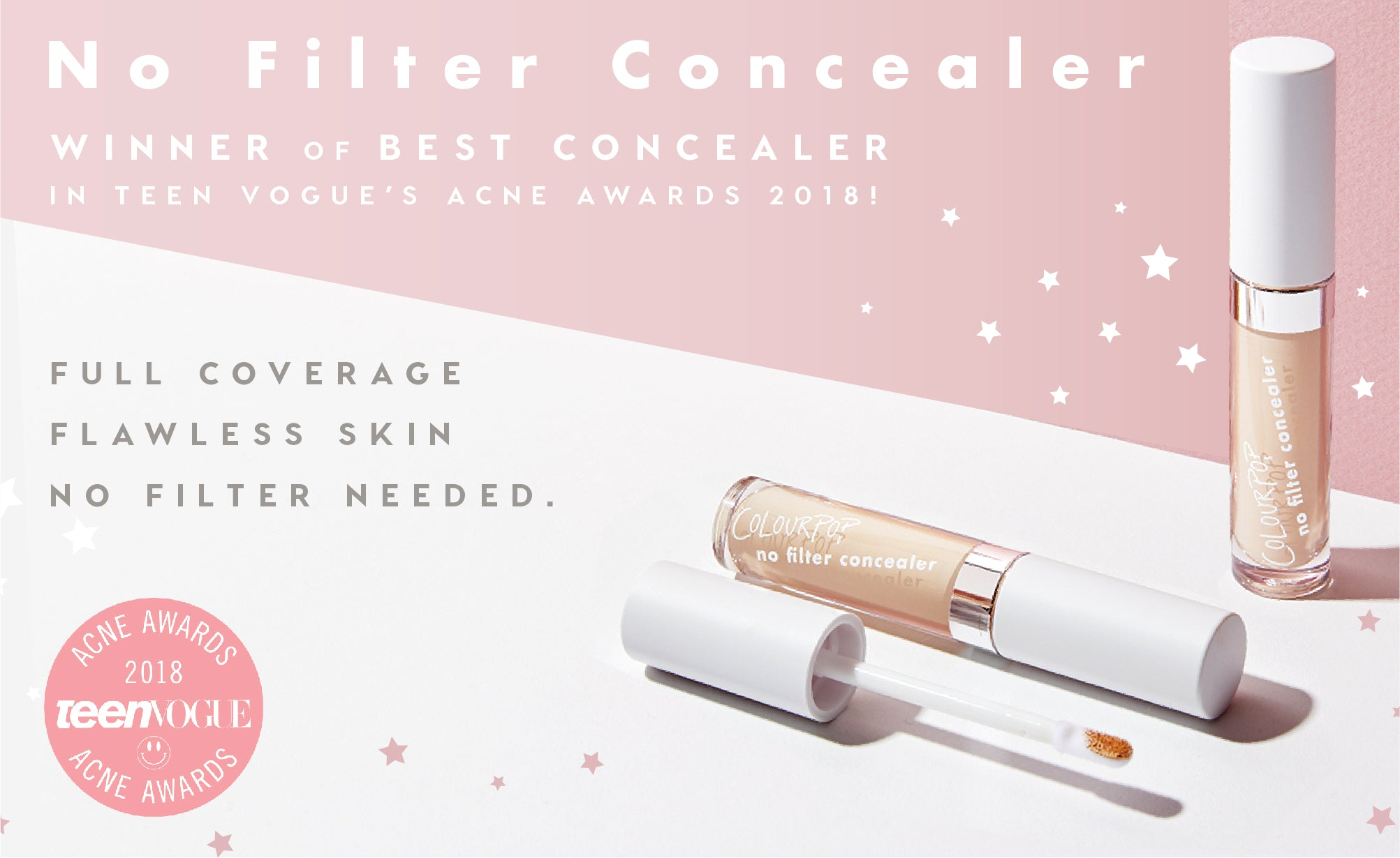 ColourPop No Filter Concealer Collection