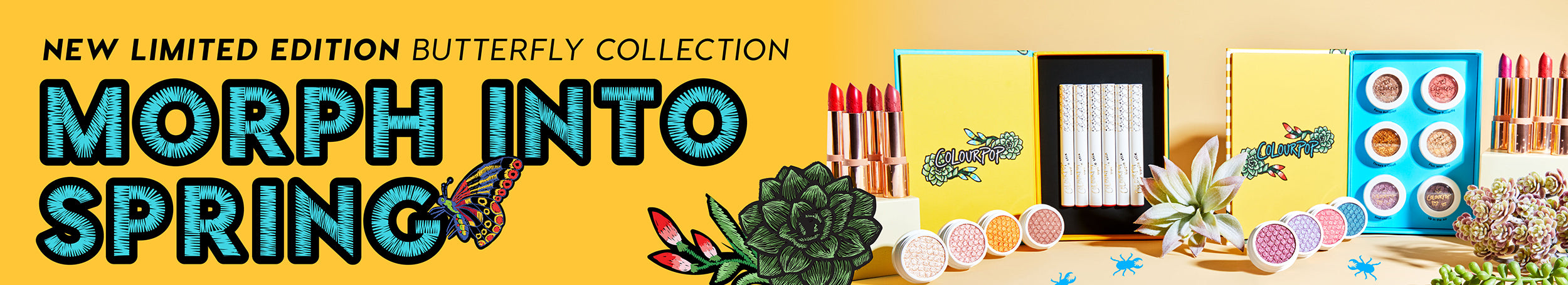 ColourPop Cosmetics The Butterfly Collection