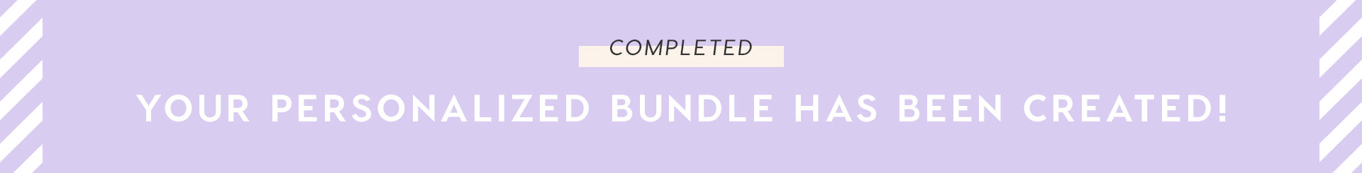 Your bundle has been created