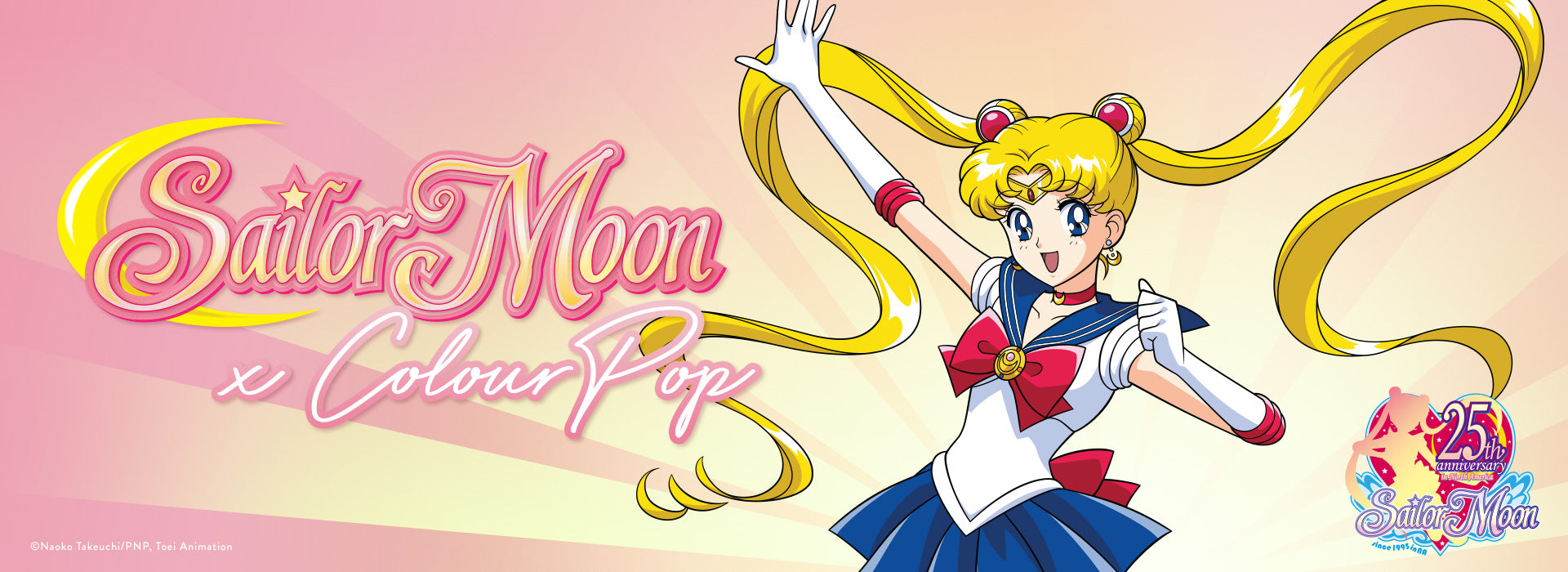 Sailor Moon x Colourpop Collection banner
