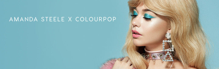 Amanda Steele x ColourPop collab Banner
