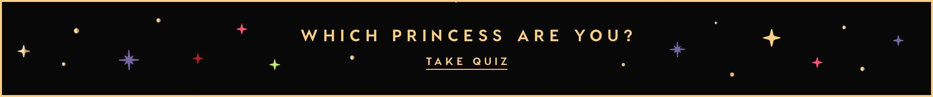 Which disney princess are you? Take the quiz!