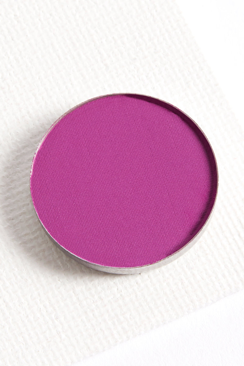 143 intense matte deep lilac Pressed Powder eye shadow