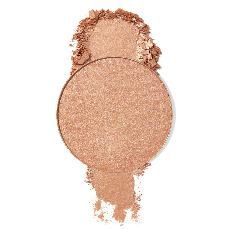 1st Prize pearlized  golden sand Pressed Powder Highlighter