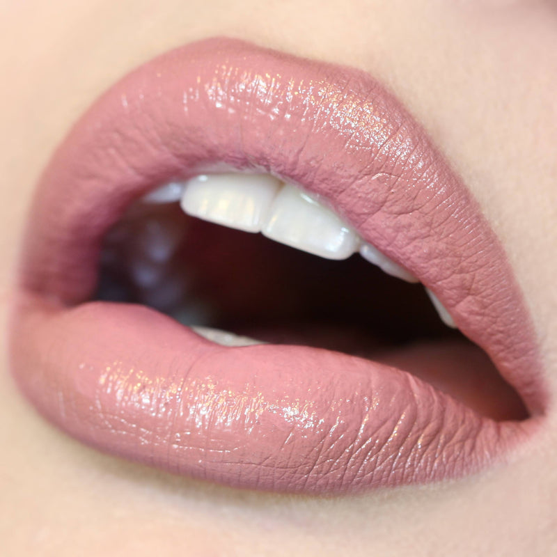 Bound light nude pink crème Lippie Stix swatch