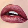 3-Way red Ultra Metallic Lip swatch