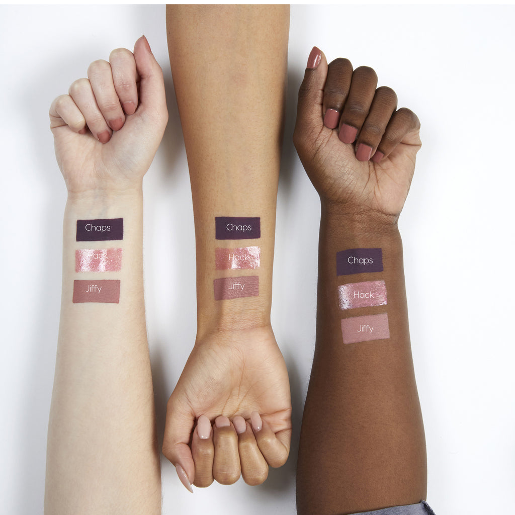 Amanda Steele Chaps purple Ultra Matte Lip swatches