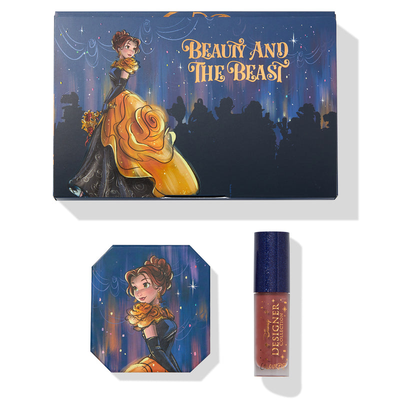 Disney x ColourPop Beauty and The Beast Belle