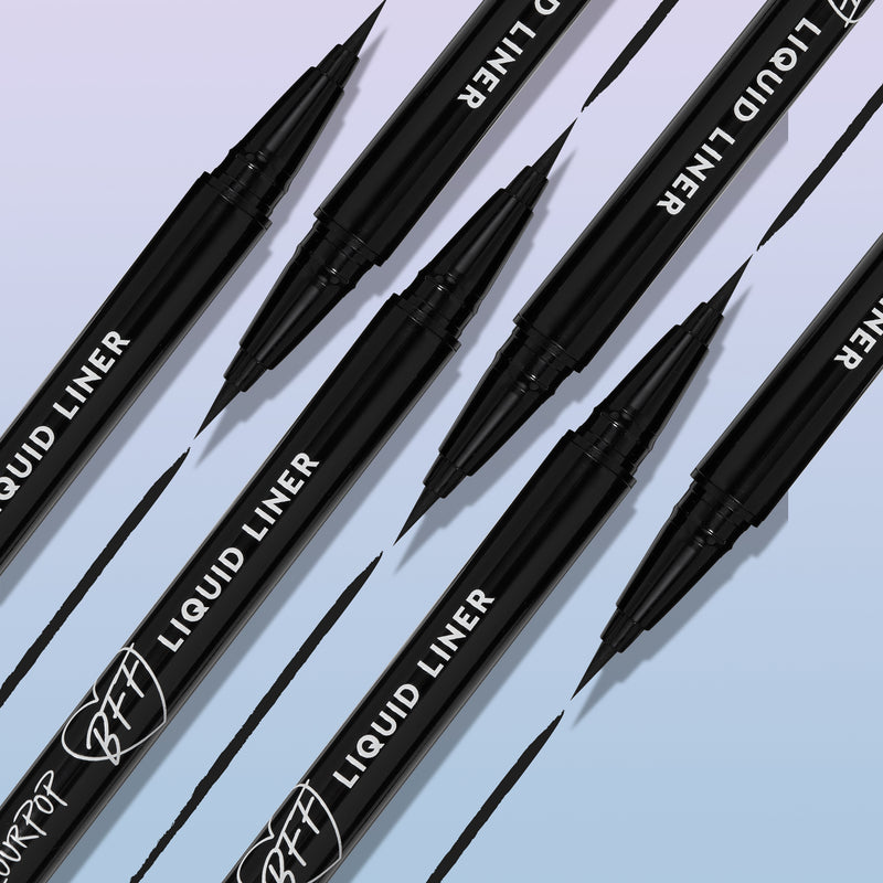 Colourpop Black BFF long-wearing Brush-Tip Liquid Eyeliner