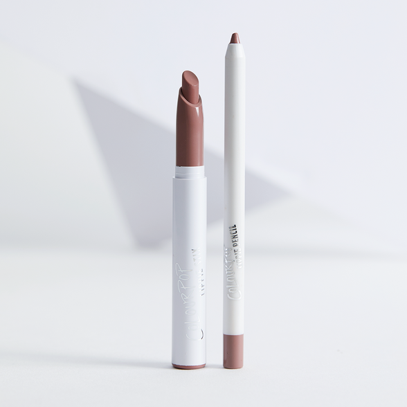 Boys Town Set mid-toned pinky brown Lippie Pencil & Crème Lippie Stix