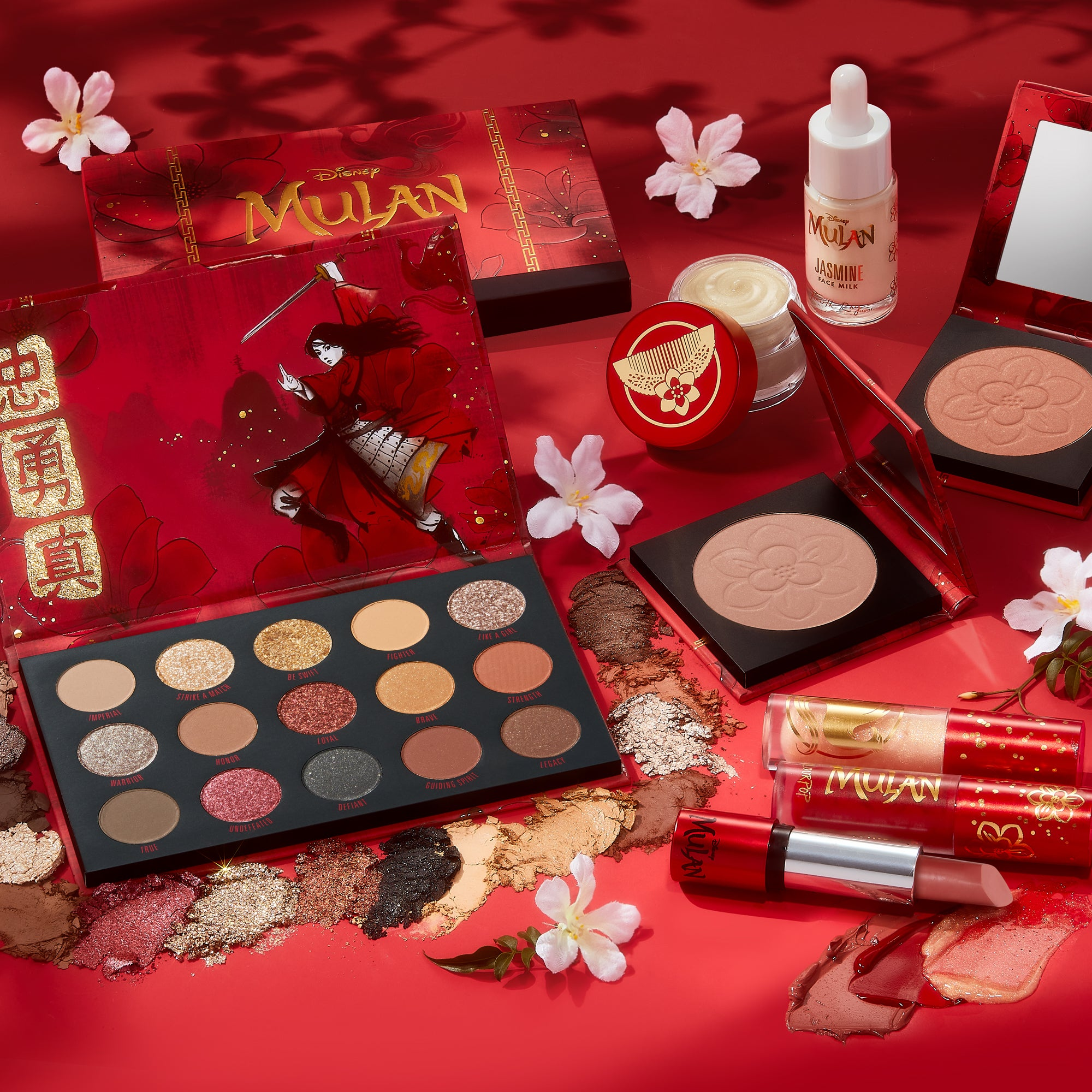 Mulan Collection with all products being displayed