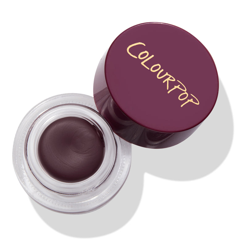 ColourPop Charmer deep plum pot eyeliner