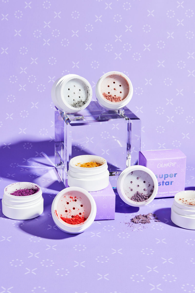 Super Star Loose Pigment launch