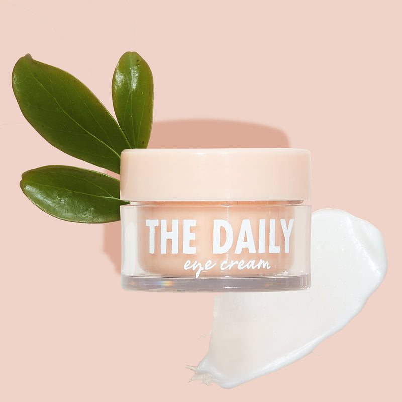 The Daily Eye Cream with swatch