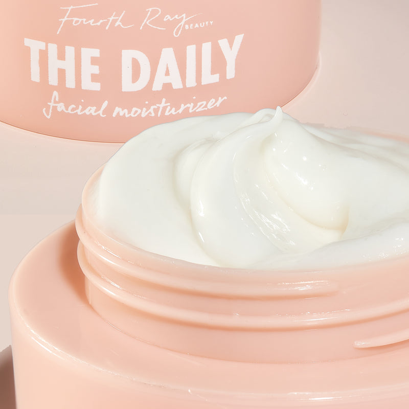 The Daily Facial Moisturizer showing the inside