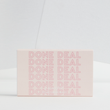 Done Deal packaging