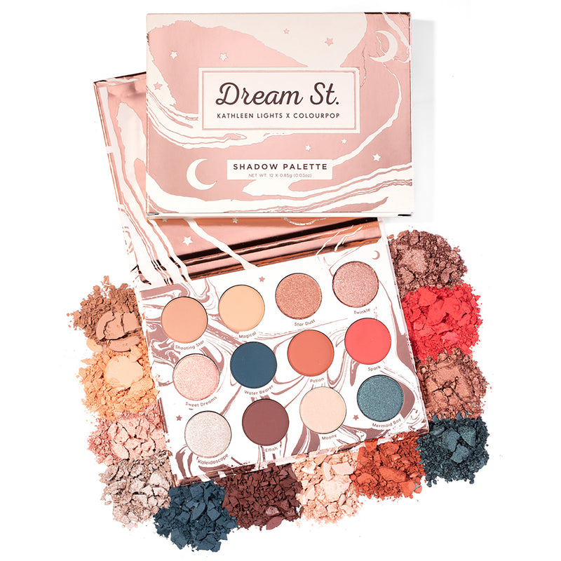 Kathleen Lights x ColourPop - Dream St. Pressed Powder eye Shadow Palette