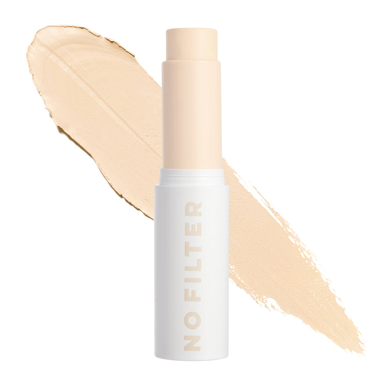 Fair 25 W No Filter Foundation Stix Warm foundation stick with yellow undertones for fair skin tones