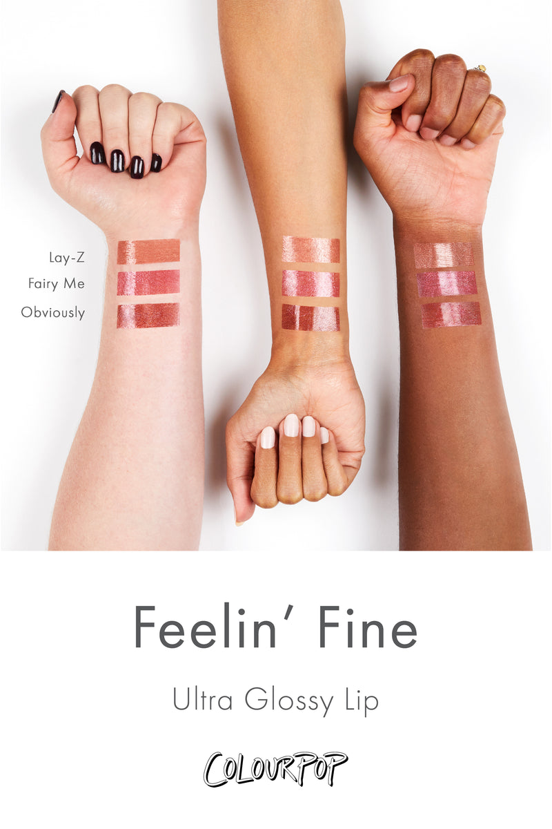 Feelin' Fine Lip Gloss Trio by Colourpop #6