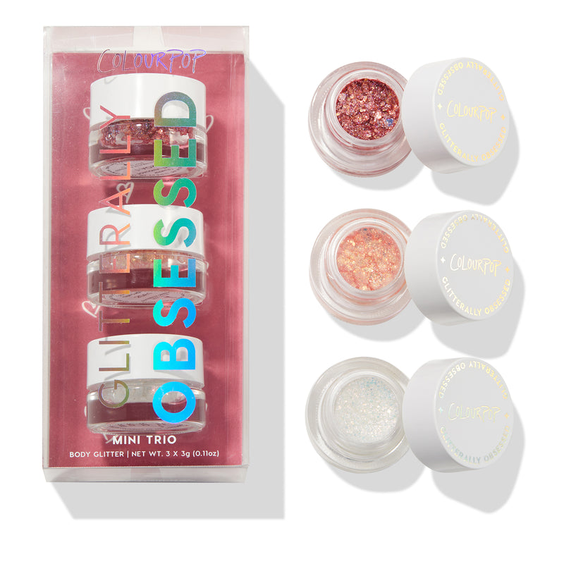 Better Together glitter gel trio with packaging