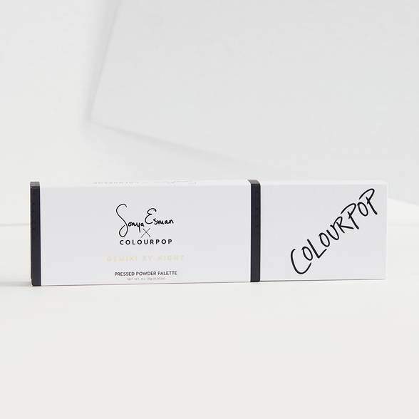 Sonya Esman x ColourPop - Gemini by Night packaging
