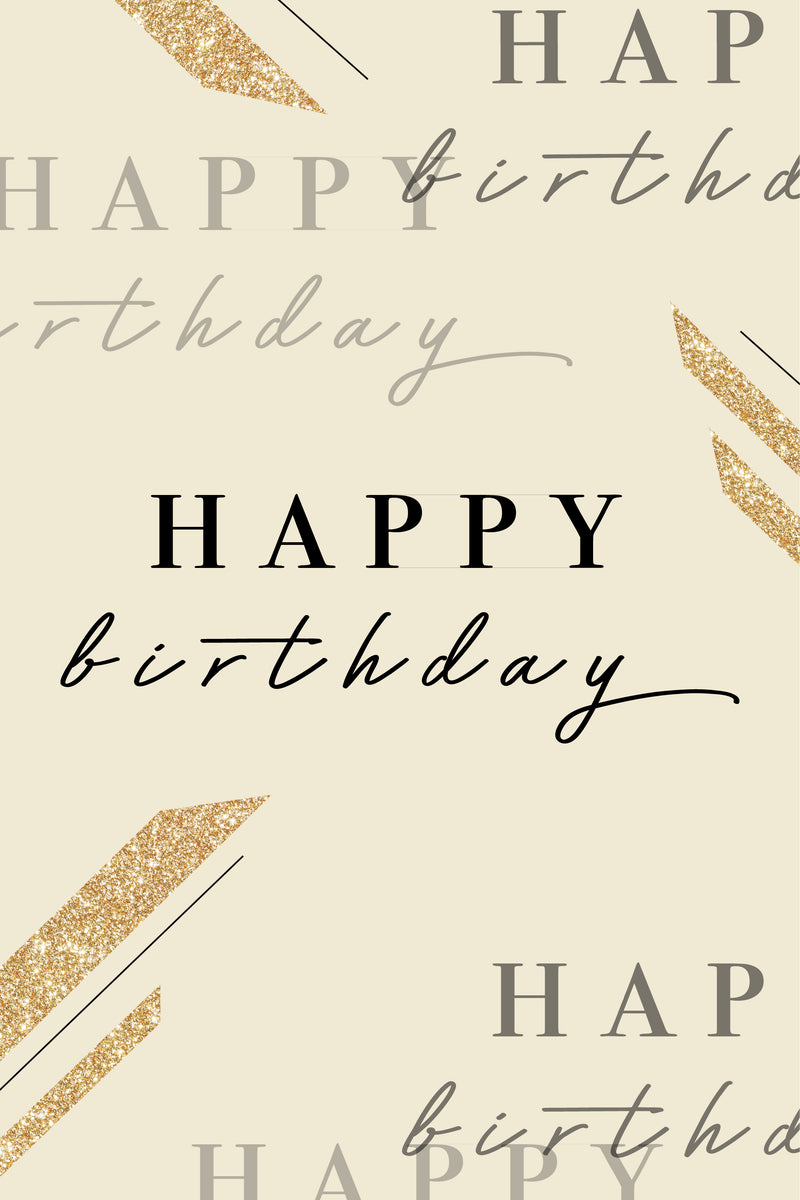 Happy Birthday - $25 Gift Card