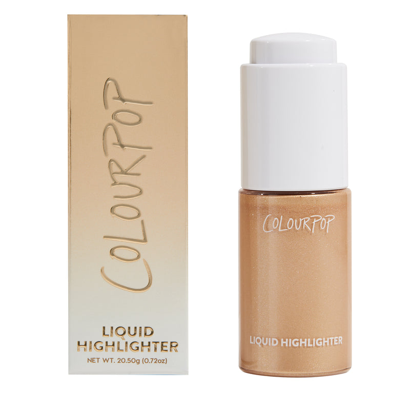Champagne Bubbles golden champagne Liquid Highlighter with packaging