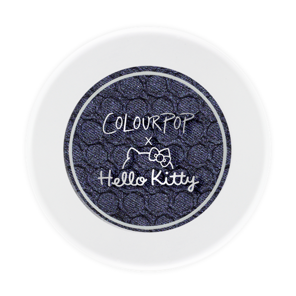 Hello Kitty School Bus pearlized deep navy blue eye shadow