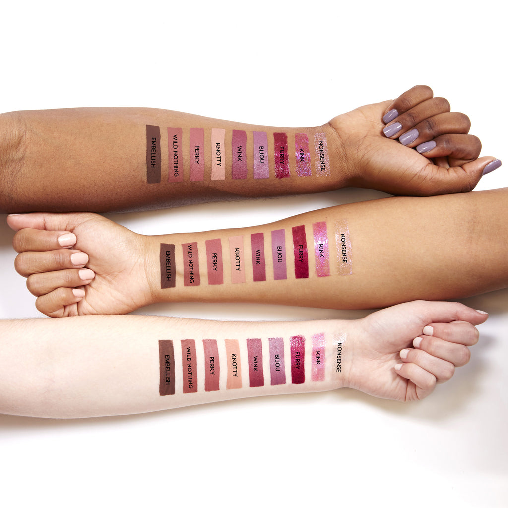 Perky Ultra Matte Lip swatches