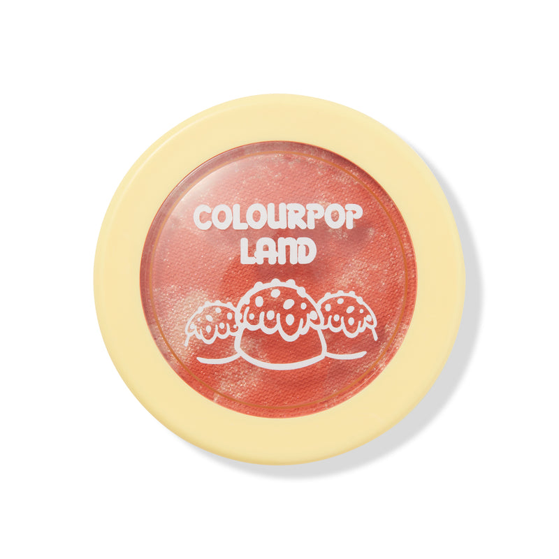 Candy Land Jolly frosty pinky peach Super Shock Blush