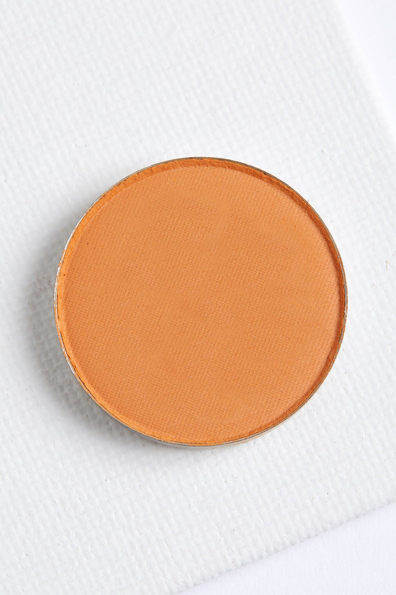 Koi matte soft warm orange Pressed Powder eye Shadow
