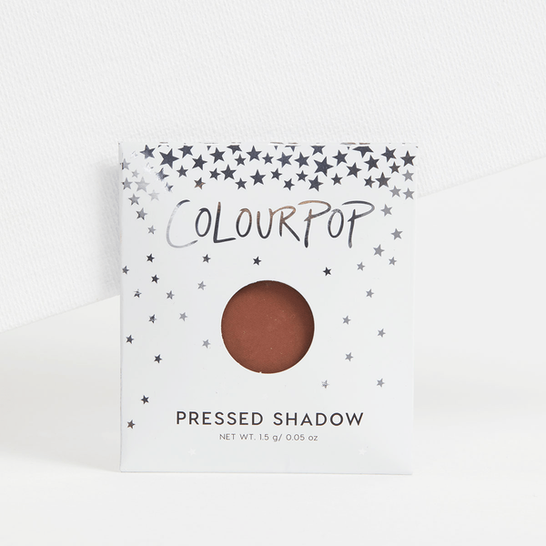Lil' Boat matte rich brown Pressed Powder eye Shadow