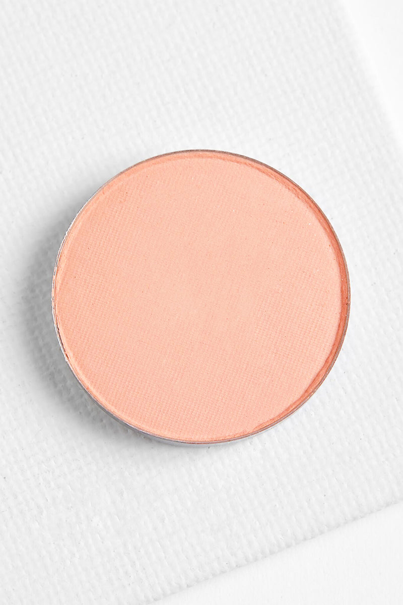 Lucky You matte true baby pink Pressed Powder eye Shadow