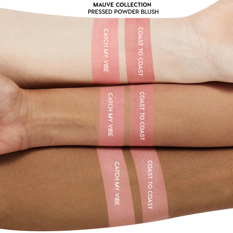 Catch My Vibe and Coast To Coast Blush Arm Swatch