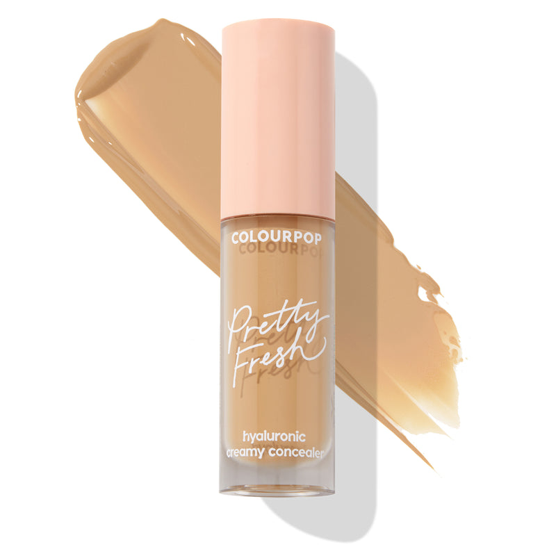 ColourPop Hyaluronic Creamy Concealer Medium Dark 115W with Coconut Water, Oil Free and Ideal for All Skin Types with Swatch