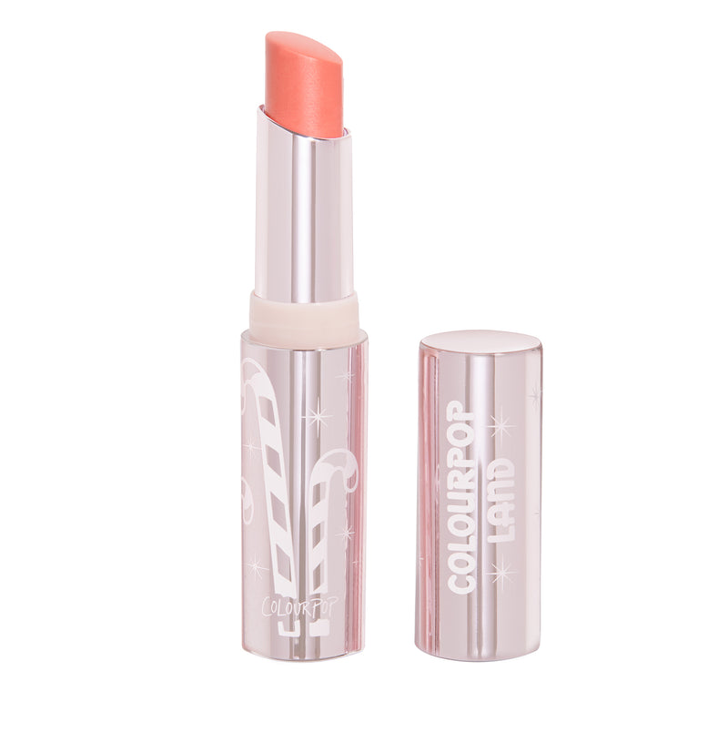 Candy Land Mr. Mint sheer warm coral Glowing Lip Balm