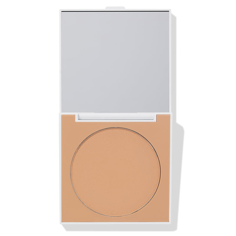 ColourPop Medium Finishing Powder easy for on the go leaving flawless skin with oil absorbing pressed powder compact for medium to dark skin tones