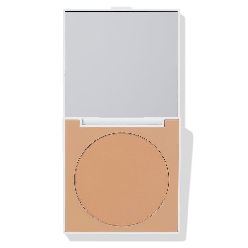ColourPop Medium Finishing Powder easy for on the go leaving flawless skin with oil absorbing pressed powder compact for medium light to medium tan skin tones