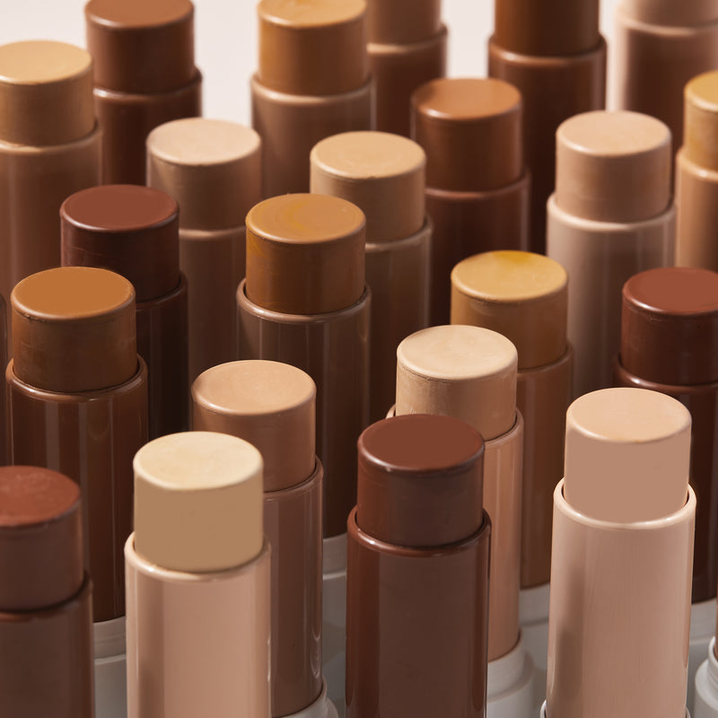 Colourpop No Filter Foundation Stix weightless, medium-buildable coverage stick foundation.