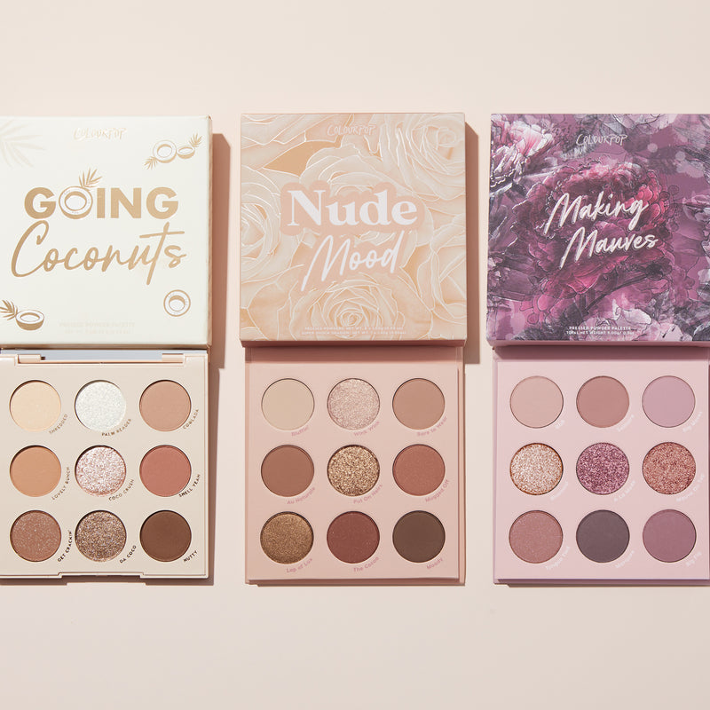 Nude for Days Nude Shadow Palette Set