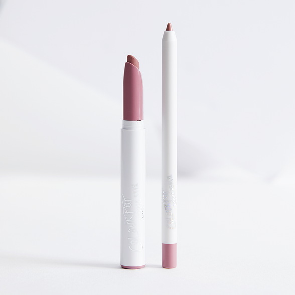 Oh Snap Set muted pinky nude Lippie Pencil & Matte Lippie Stix