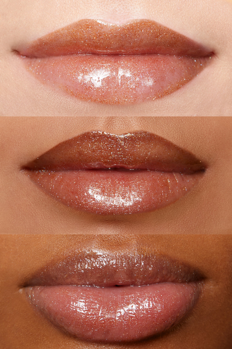 On Board prismatic bronze Ultra Glossy Lip lip swatches